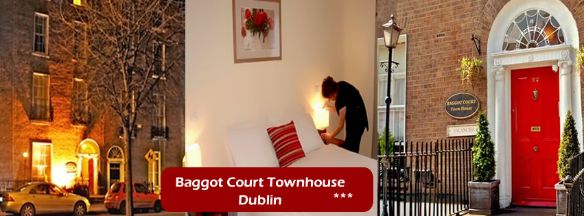 Baggot Court Townhouse, Small Hotel and Bed and Breakfast Dublin (B&B Dublin)